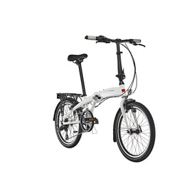 "Ortler London One Hopfällbar cykel 20"" vit"